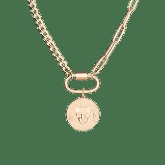 AURATE X KERRY: Lioness Pendant Necklace