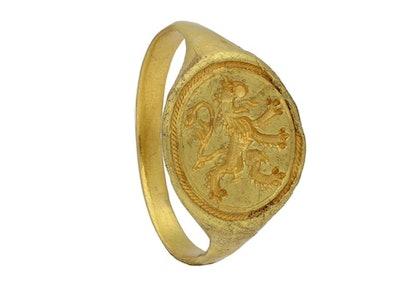 Elizabethan Gold Signet Ring