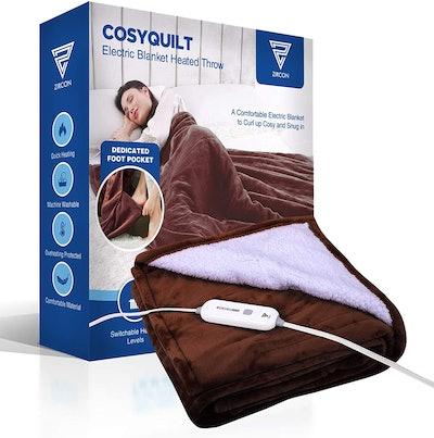 Zircon Heated Throw Blanket