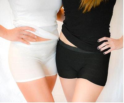 Seamless Mesh Knit Postpartum Underwear