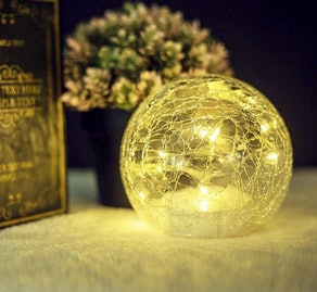 Jiabang LED Glass Globe Light