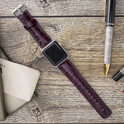 Venito Tuscany Leather Apple Watch Band