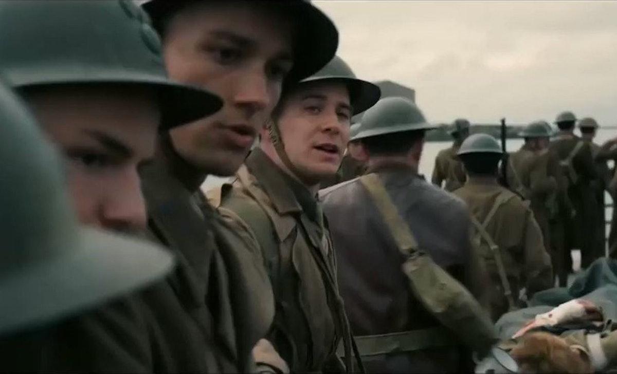 Luke Thompson played a British soldier in 'Dunkirk.'