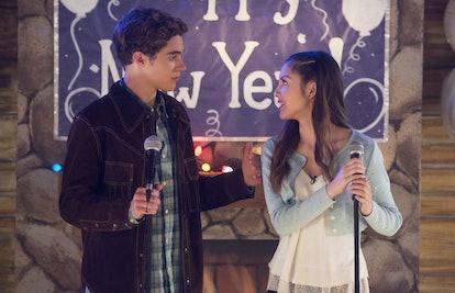 Joshua Bassett and Olivia Rodrigo in 'High School Musical: The Musical: The Series'