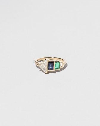 Woman House Ring
