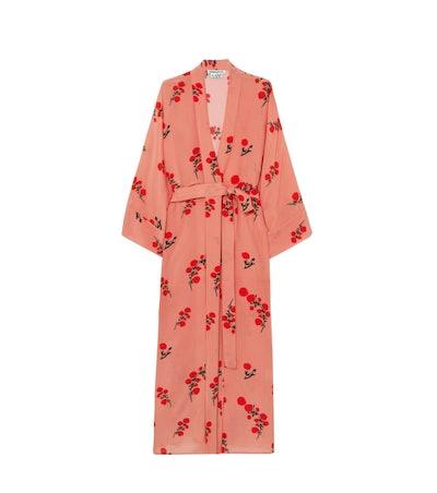 Red Blossom Robe