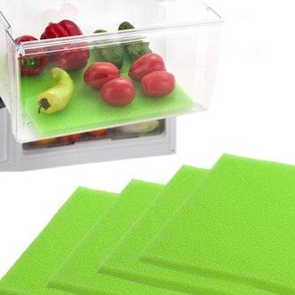 Dualplex Refrigerator Shelf Liners (4-Pack)