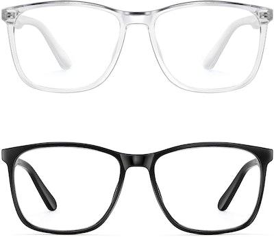 PengSer Blue Light Blocking Glasses (2-Pack)