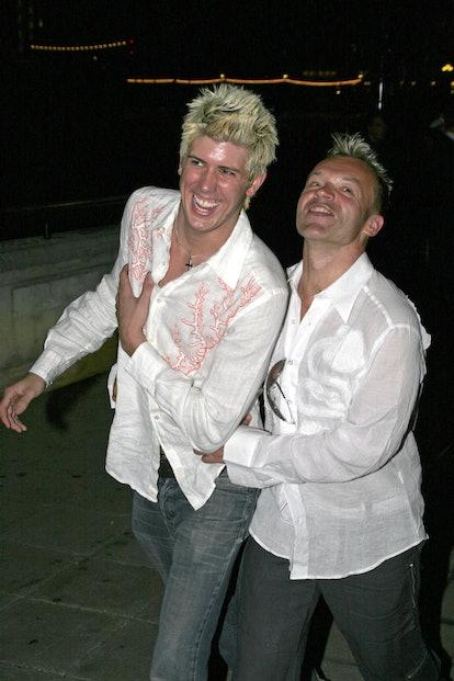 Graham Norton & Kristian Seeber (AKA Tina Burner)