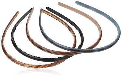 Scunci Effortless Beauty Skinny Plastic Headbands