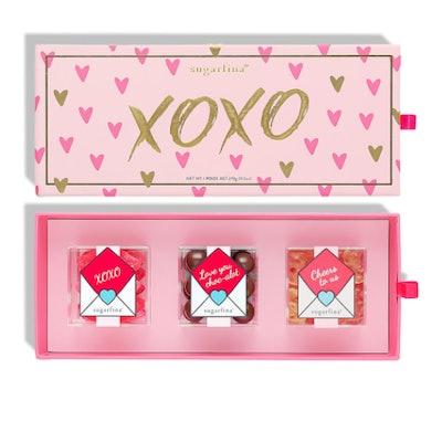 XOXO 3 Piece Candy Bento Box