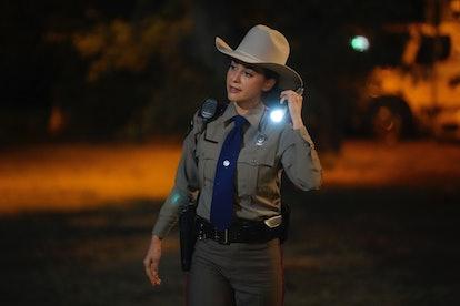 Lindsey Morgan as Micki Ramirez in 'Walker' via Viacom Press Site