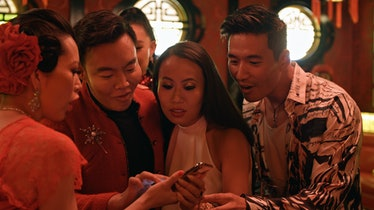 "Christine Chiu, Kane Lim, Kelly Mi Li and Kevin Kreider. in episode 3 ""What's in Anna's Shower?"" of ..."