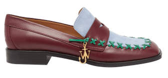 Flat Leather Loafers
