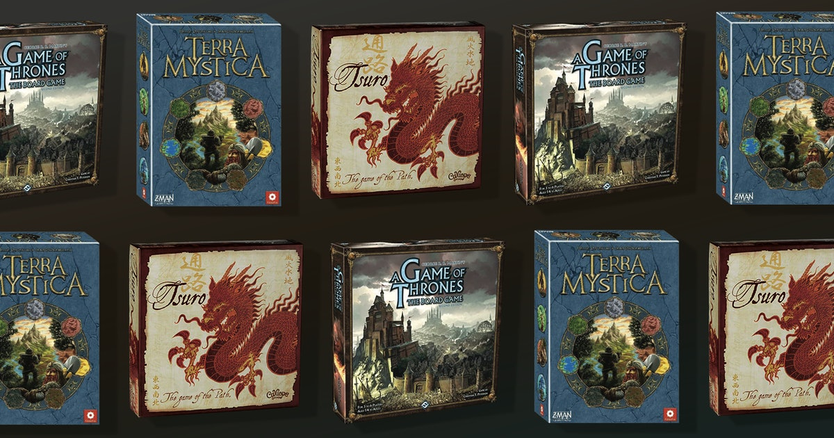 These immersive fantasy board games will transport you to new worlds