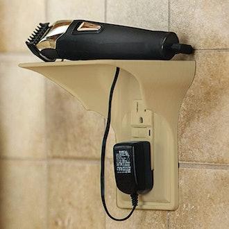 Power Perch Single Wall Outlet Shelf
