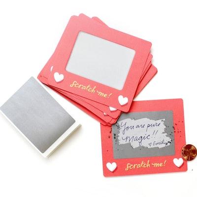 InklingsPaperie Scratch-A-Sketch Valentines