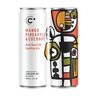 Mango Pineapple & Coconut Sparkling Juice (4 Pack)