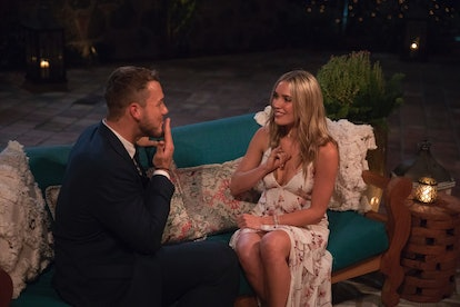 Colton Underwood and Cassie Randolph in 'The Bachelor'