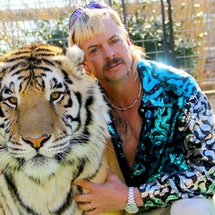 Joe Exotic's team rented a limo because they expected a presidential pardon from Donald Trump
