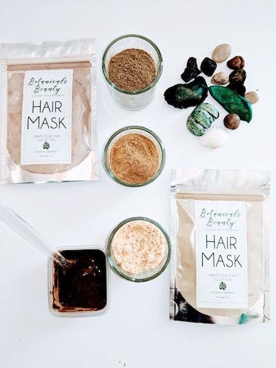 Herbal Hair Clay Mask
