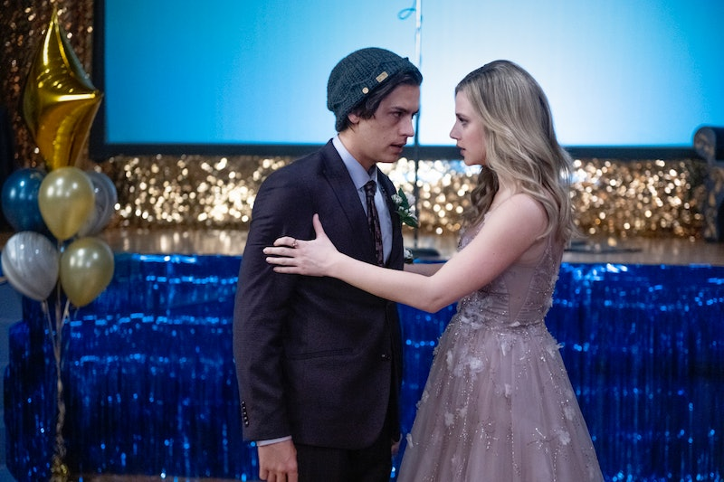 Jughead and Betty on Riverdale via the CW press site