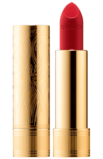 Rouge à Lèvres Satin Lipstick in 25* Goldie Red