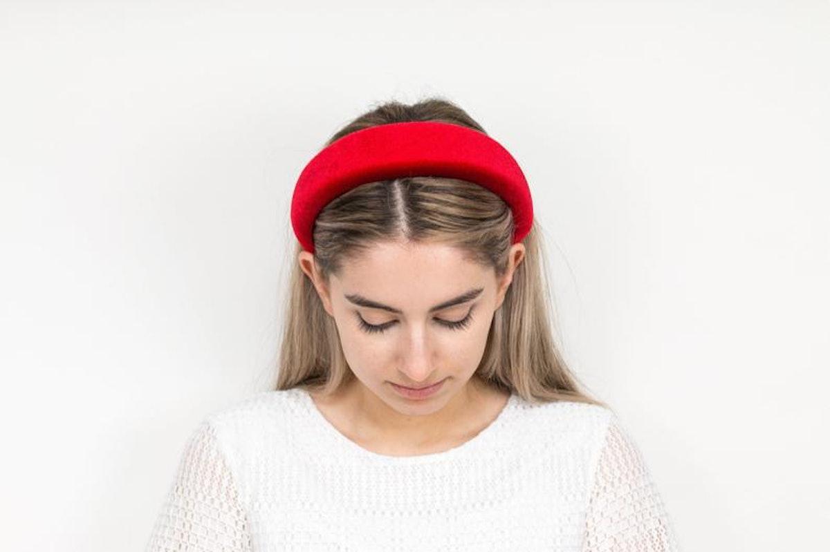 NebulaNYC Red Velvet Headband