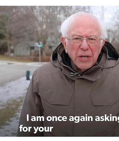 A Bernie Sanders meme.