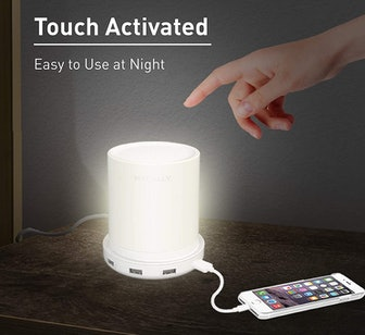 Macally LED Lamp with USB Ports