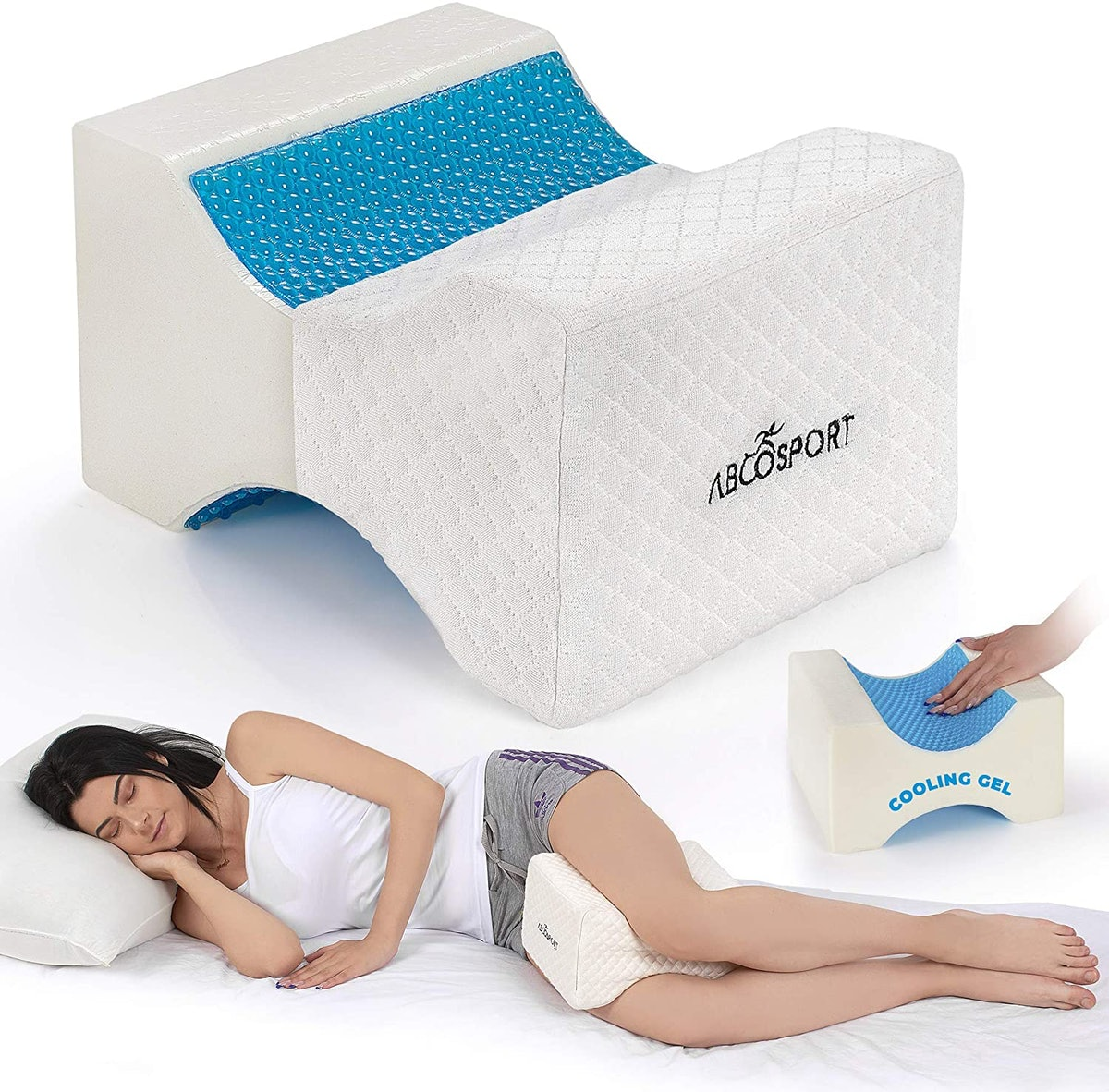 Abco Tech Memory Foam Knee Pillow