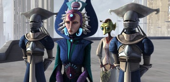 Satine Kryze in Star Wars: The Clone Wars