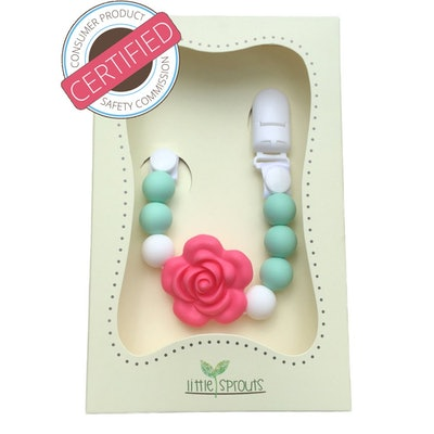 Little Sprouts 2 in 1 Pacifier Clip