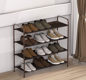 mDesign Shoe Rack
