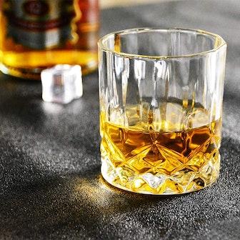 Glaskey Whiskey Glasses (Set of 4)