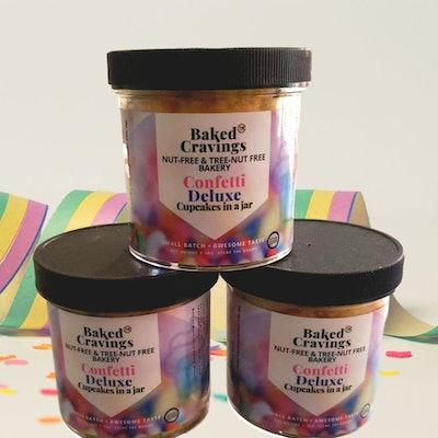 Confetti Deluxe Cupcake In A Jar