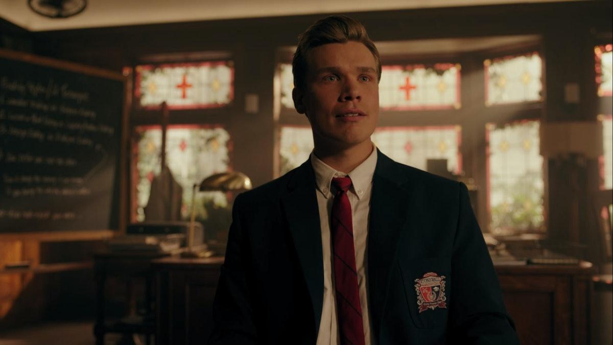 Bret in Riverdale Season 4.