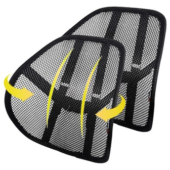 Kingphenix Mesh Lumbar Support Cushion (2-Pack)
