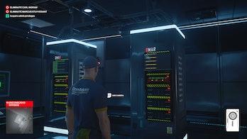 hitman 3 server room admin privileges solution