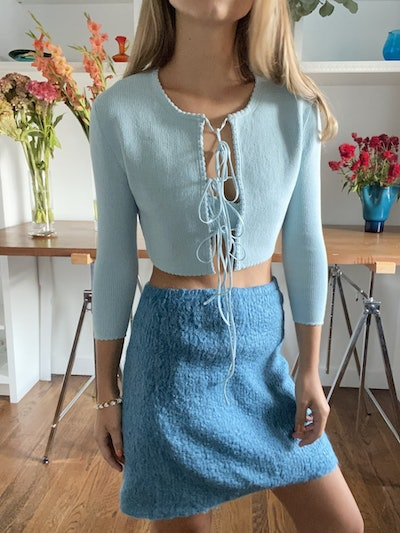 Jenny Scalloped Cardigan