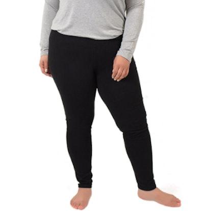 Stretch Is Comfort Store Cotton Plus Size Leggings