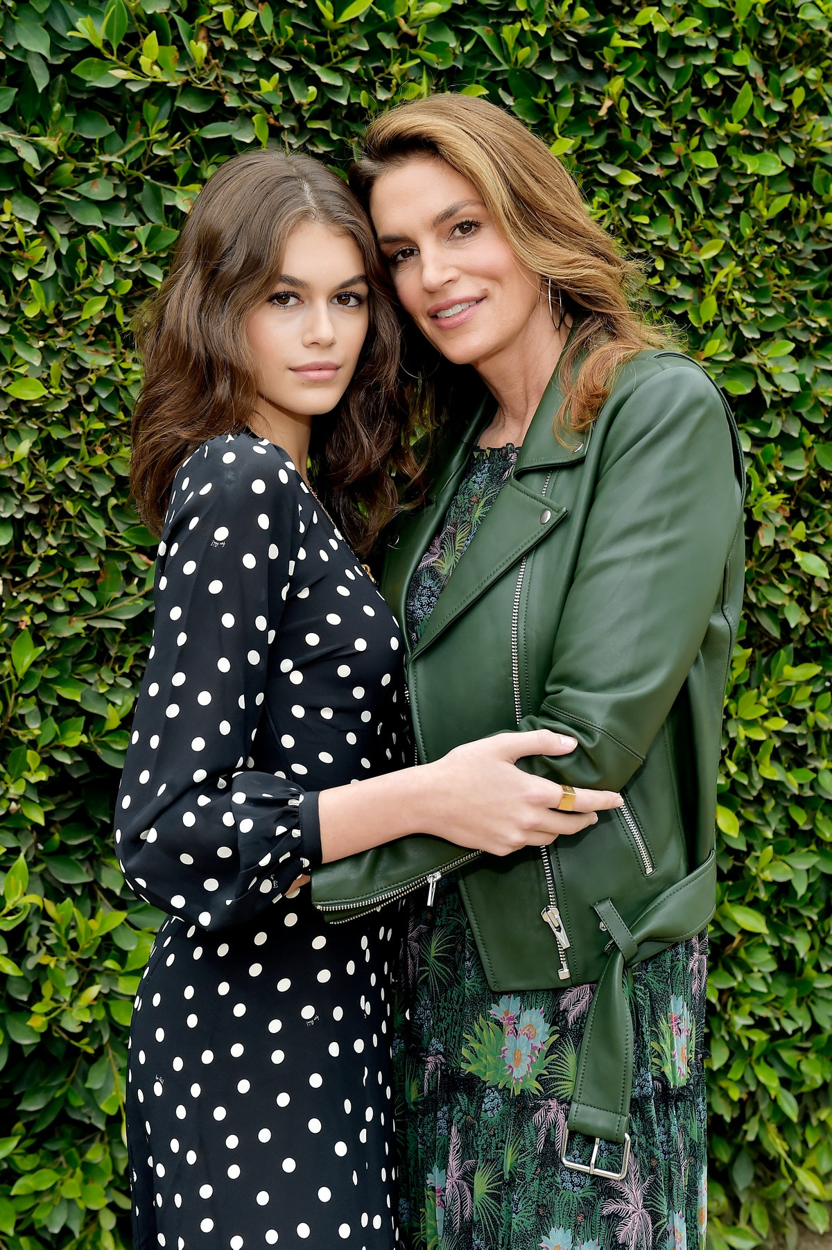 Cindy Crawford and Kaia Gerber attend 2018 Best Buddies Mother's Day Brunch.