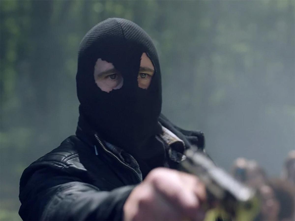 The Black Hood in Riverdale.