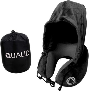 Qualid Travel Pillow with Hoodie