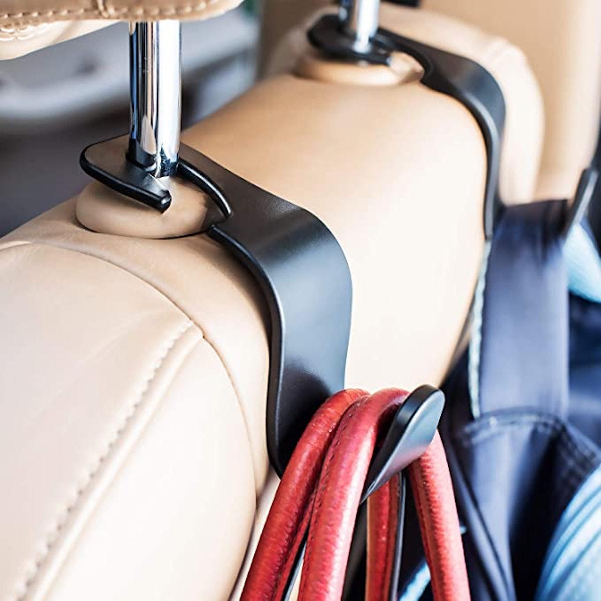 EldHus Ofspower Headrest Hook Hanger (4-Pack)