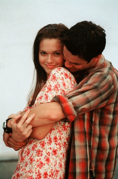 Mandy Moore and Shane West in 2002's A Walk To Remember