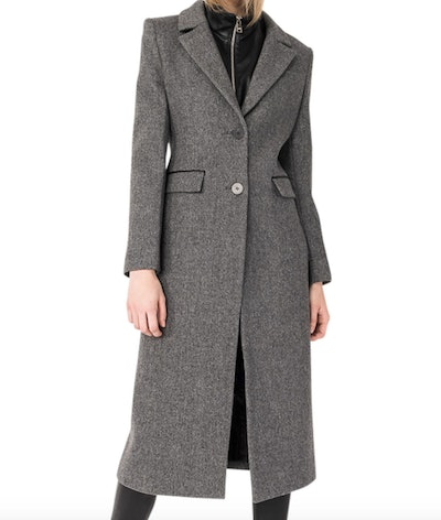 Malva Wool-Blend Long Coat