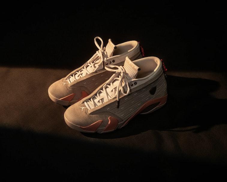 Clot Air Jordan 14 Low Terracotta
