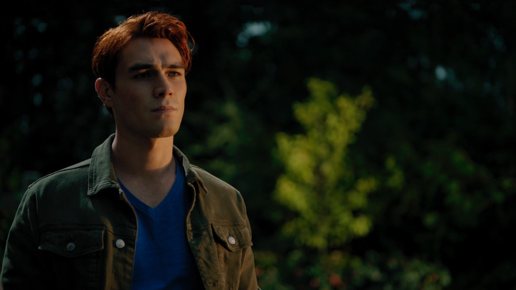KJ Apa as Archie Andrews in Riverdale.