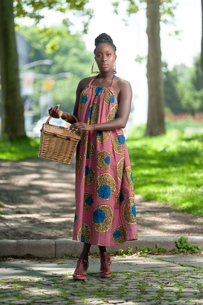 T-Rich African Print Maxi Dress